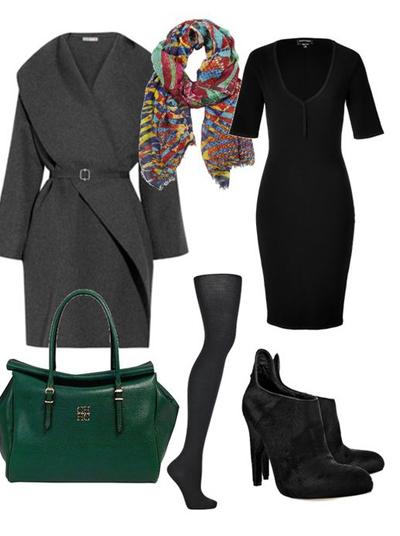Лучшие сеты с черным платьем: 24 роскошных образов для уверенных в себе женщин