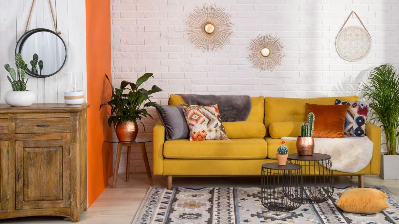 Зеленые, розовые, желтые… Красочная мебель и аксессуары в интерьере
