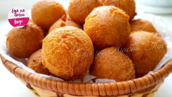 Быстрые пончики Пончики, Апельсин, Вкусно, Рецепт, Еда, Видео, К чаю, Выпечка, Сладости