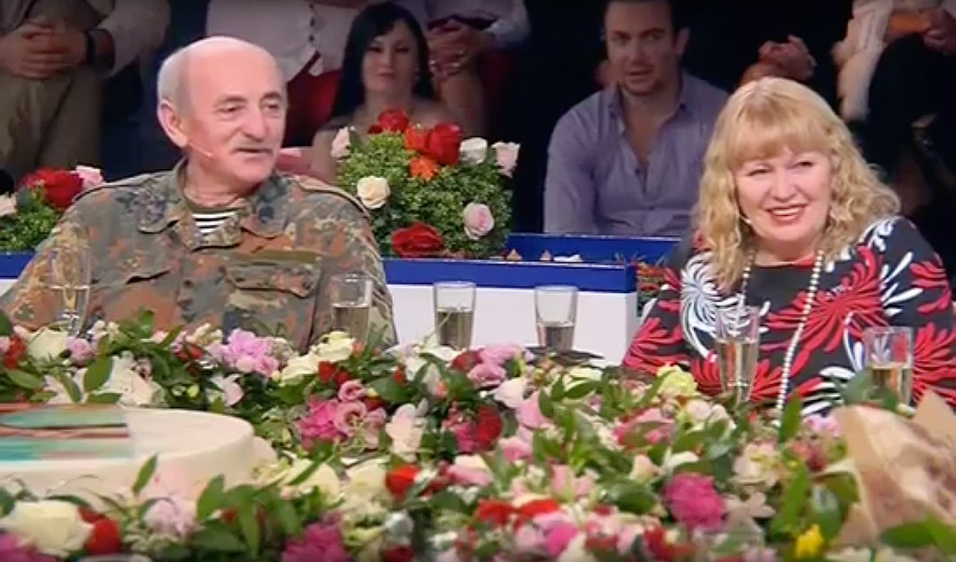 """Геннадий после эфира """"Давай поженимся!"""" воссоединился с давней подругой. Фото: кадр из программы."""