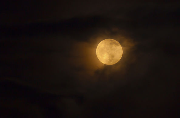 Ученые рассказали, каким был бы мир с Луной из чистого золота