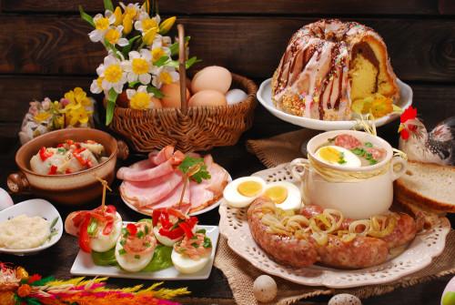 Пасхальный стол. Топ 15 праздничных блюд