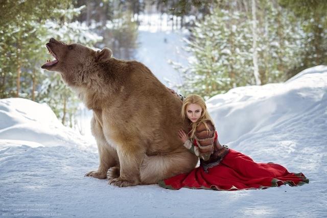 Дарья Лефлер в опасной, но красивой фотосессии