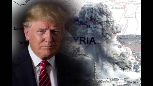 Санкции США показали истинные намерения в Сирии