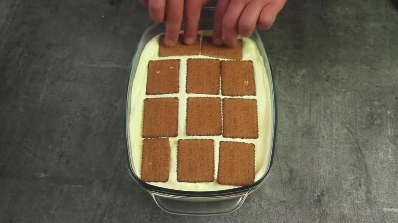 торт из печенья готовим дома