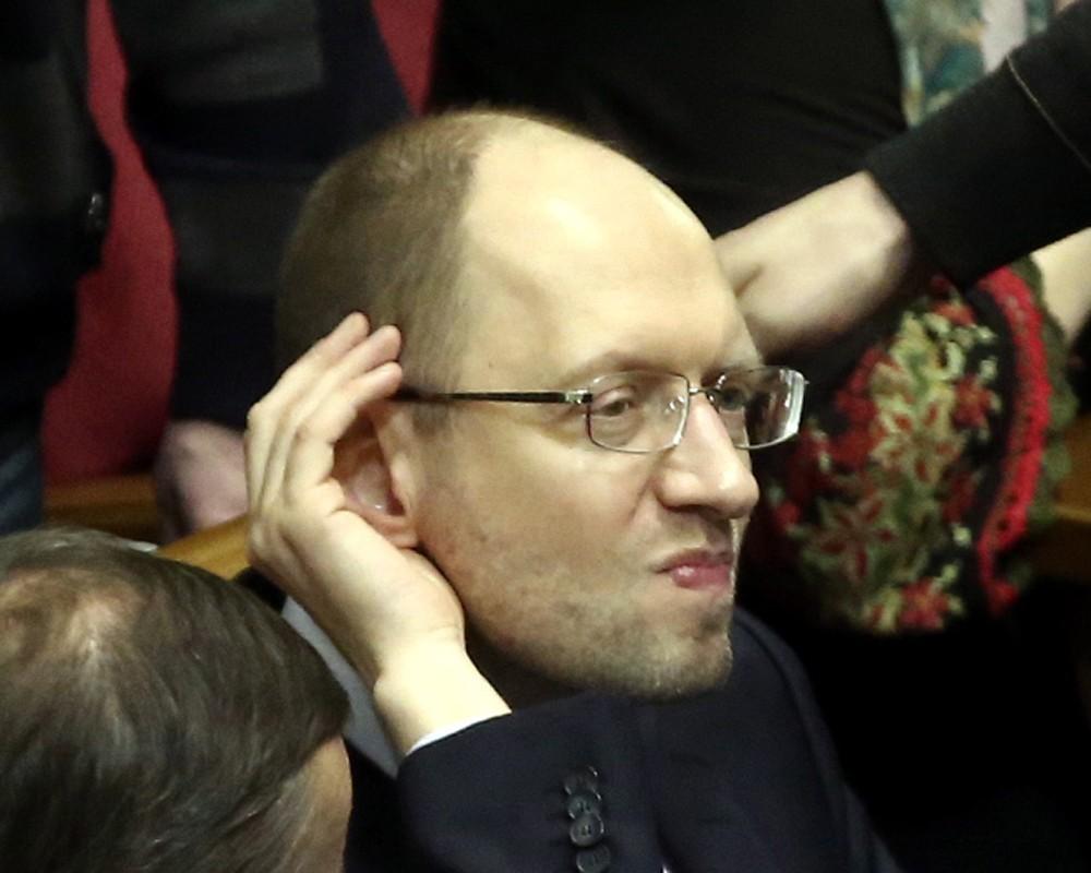 Что ещё взбредет в голову господину Яценюку?