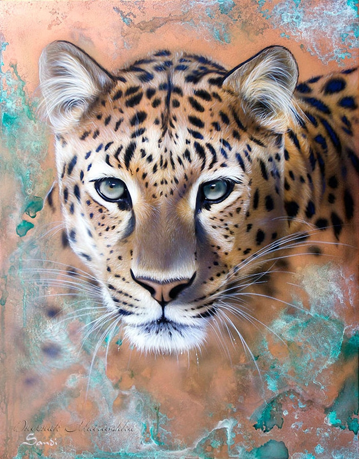 Awesome realistic drawings of animals 11