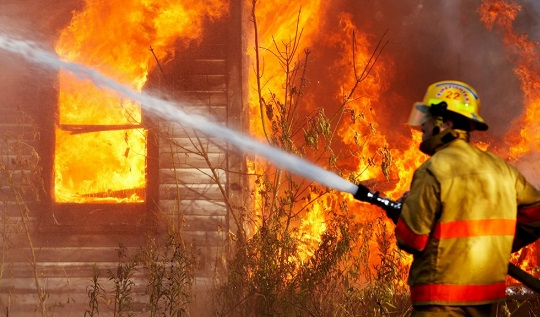 ВВологодской области при пожаре втрех домах пострадали 14 человек