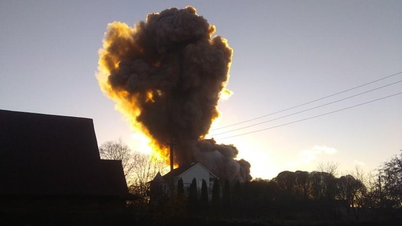 Под завалами после взрыва в Гатчине могут находиться четыре человека