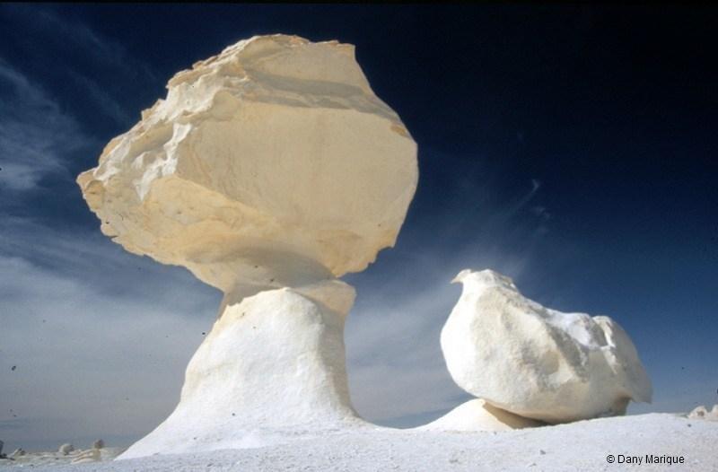 1. Белая пустыня, белые грибы. Египет интересно, история, камни, скалы, факты, чудеса света