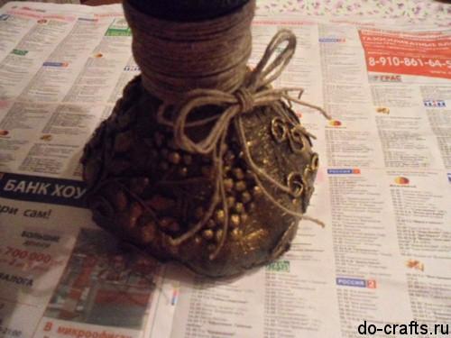 бантик на вазе