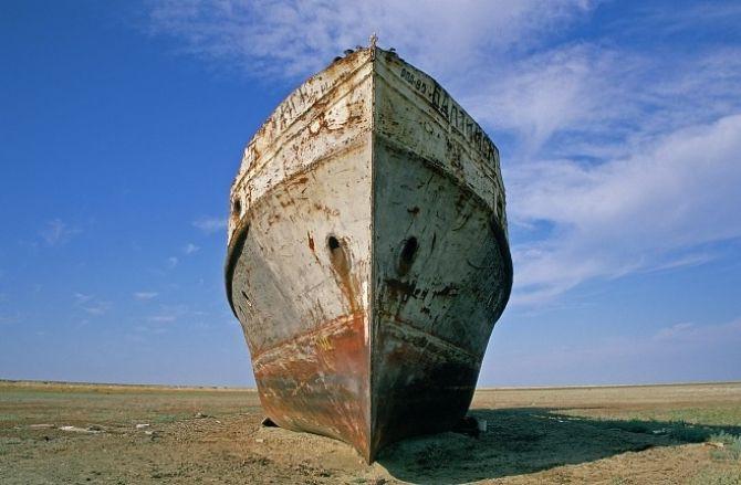 Аральское море сегодня(20 фото + 1 гиф)