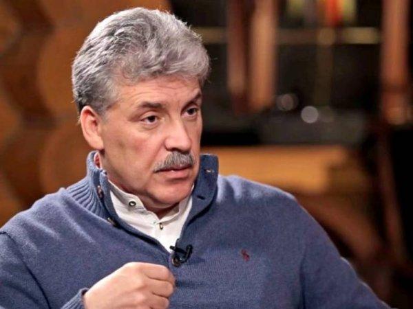 Грудинин рассказал о помощи воюющему Донбассу
