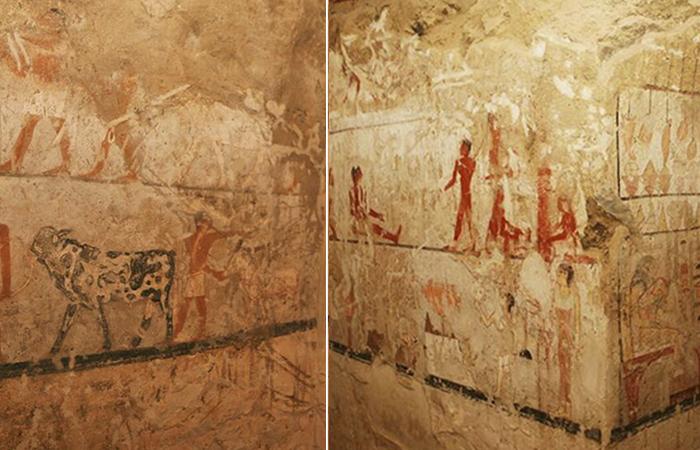 Археологи нашли пещеру с рисунками, которым уже 4400 лет