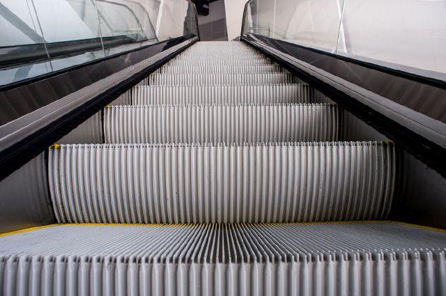 Опубликовано видео обрушения эскалатора в римском метро