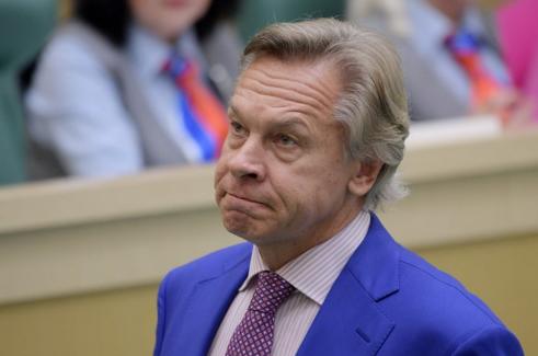 """Пушков предложил радио """"Свобода"""" поговорить об оккупации Ирака и сожжении людей в Одессе"""
