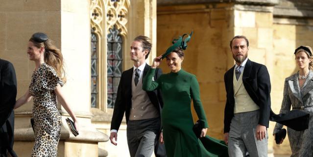 Беременная Миддлтон потрясла мир на свадьбе принцессы Евгении и Джека Бруксбэнка. Фото