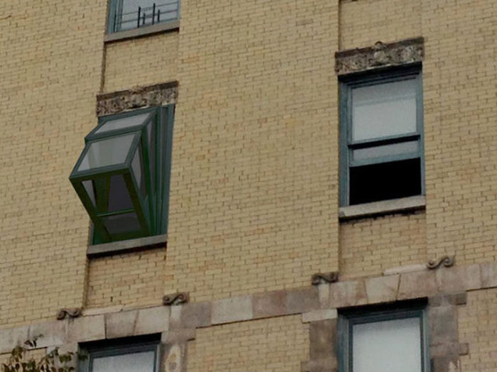 Окно, которое превращается в балкон