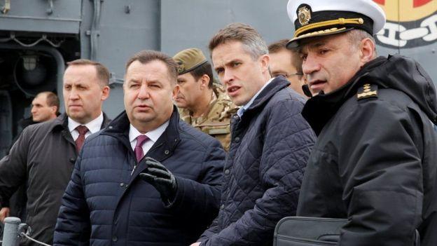 Зачем министр обороны Великобритании прибыл в Одессу.