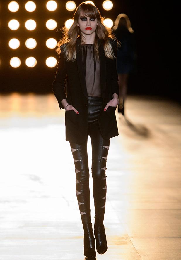 МОДНЫЕ СТРАСТИ. Актуальные модели кожаных брюк