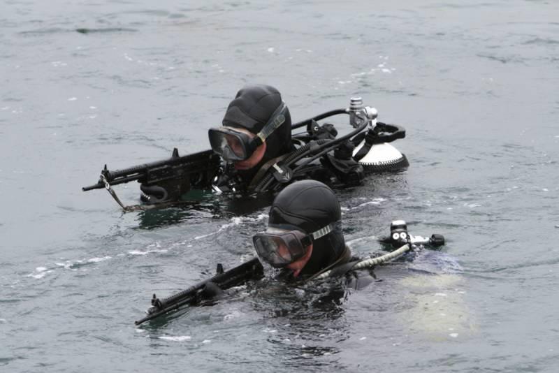 Новые противодиверсионные отряды Северного флота