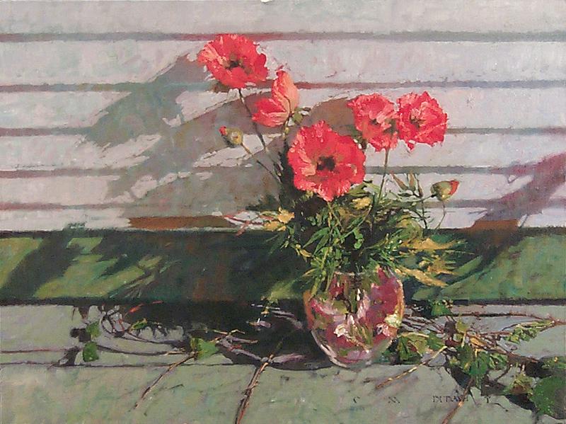 Солнце, свобода и маленький цветок… Американский художник Michael Dudash