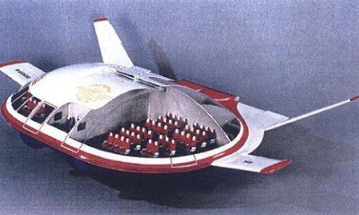 Таким самолет мог быть в будущем. | Фото: Око Планеты.