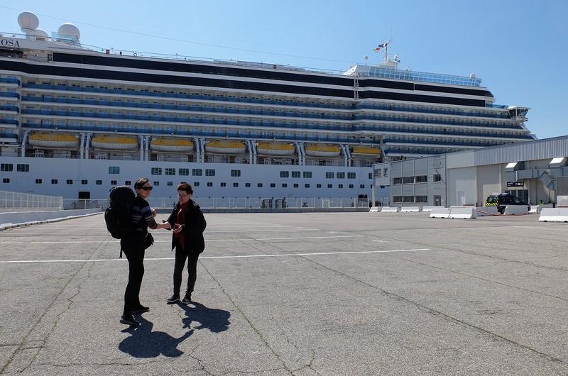 Круиз по Средиземноморью и небольшой обзор лайнера