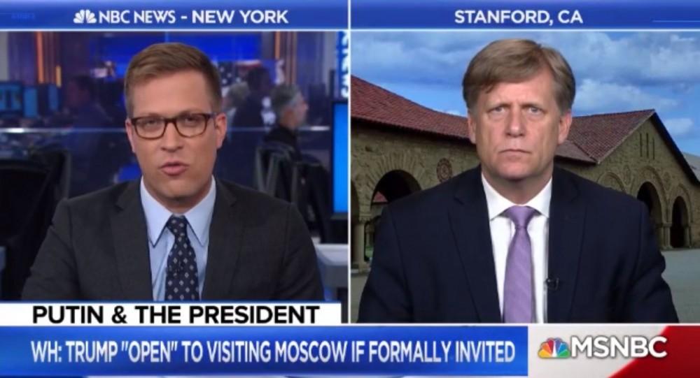 Макфол заявил, что российские санкции разрушили его научную карьеру