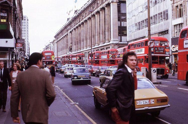 Лондон в 1970-х