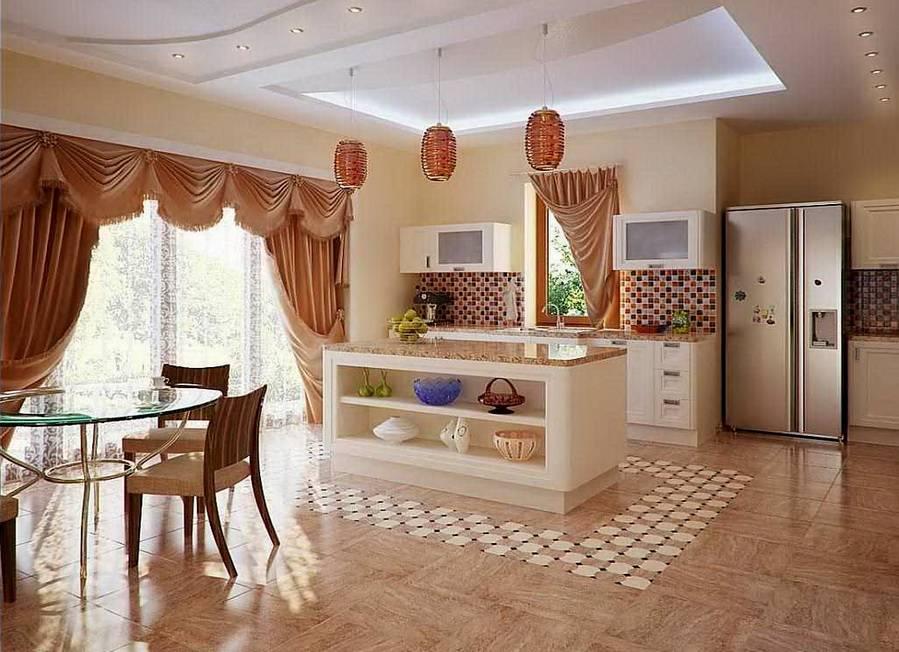 Интерьер кухни (34 фото)