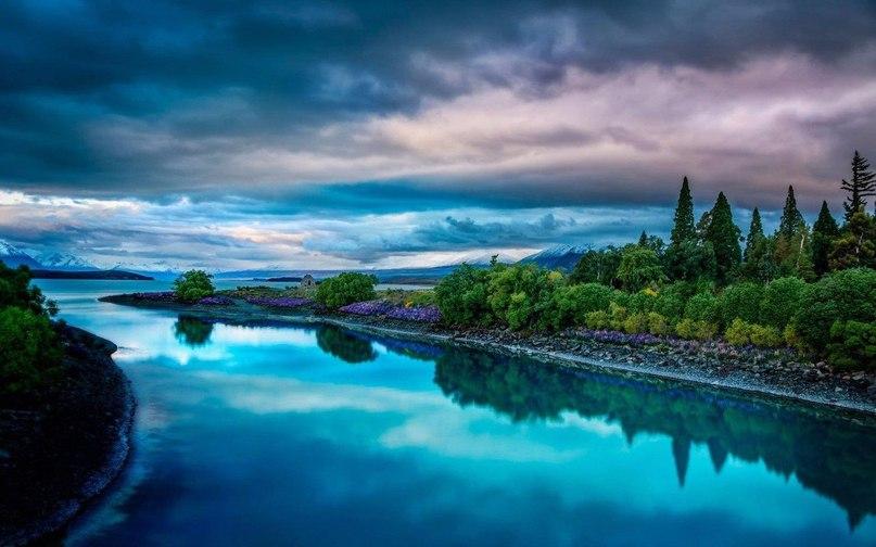 Великолепие пейзажей Новой Зеландии