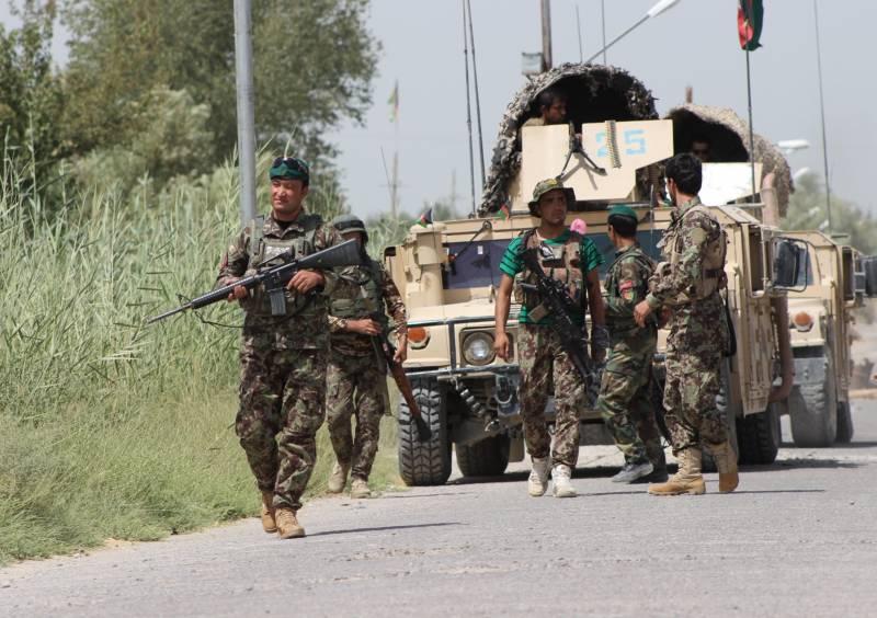 Десятки экстремистов уничтожены на северо-востоке Афганистана