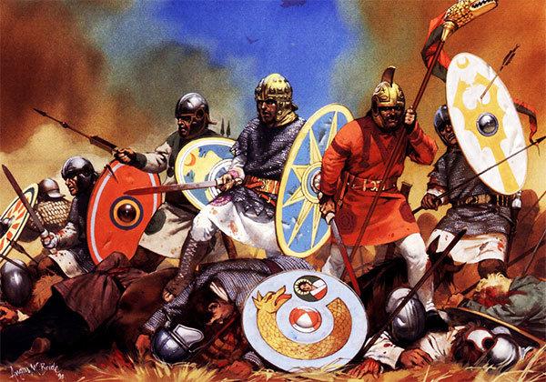А. Макбрайд. Римские легионеры