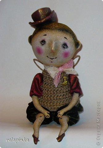 Игрушка Куклы День рождения Папье-маше Шитьё Ангел Ткань фото 1