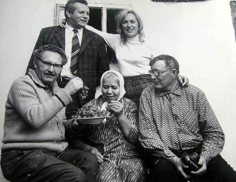 Легенды советского кино: Клара Лучко и Сергей Лукьянов Клара Лучко, СССР, Сергей Лукьянов, советские актеры, фото