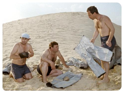 10 занятных фактов о съёмках фильма «Джентльмены удачи».