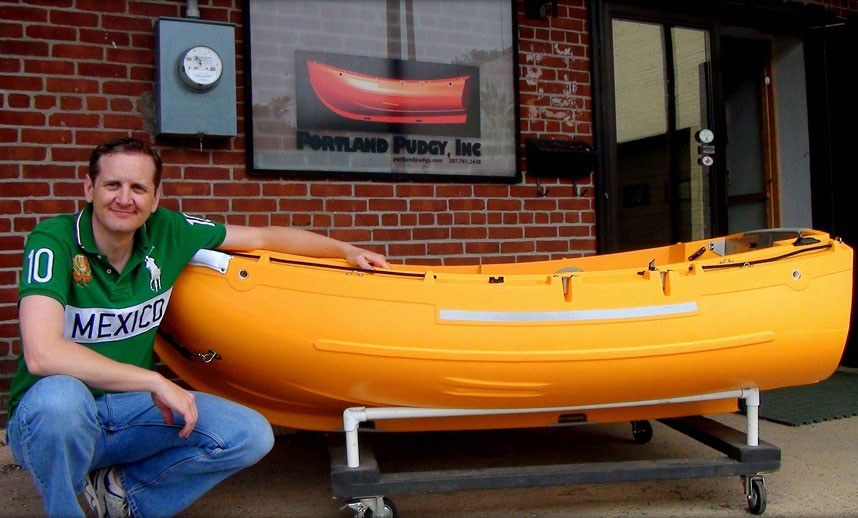 лодка для полета