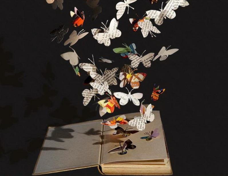 Старые книги превращаются в сказочные скульптуры. Удивительные произведения