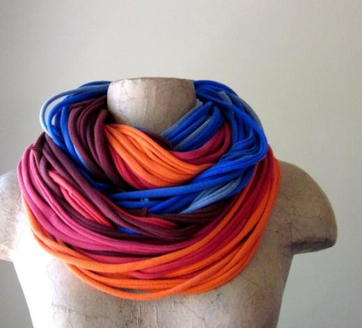 Как соткать шарф своими руками