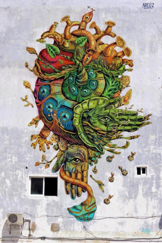 15. Канкун, Мексика граффити, стрит-арт, художники