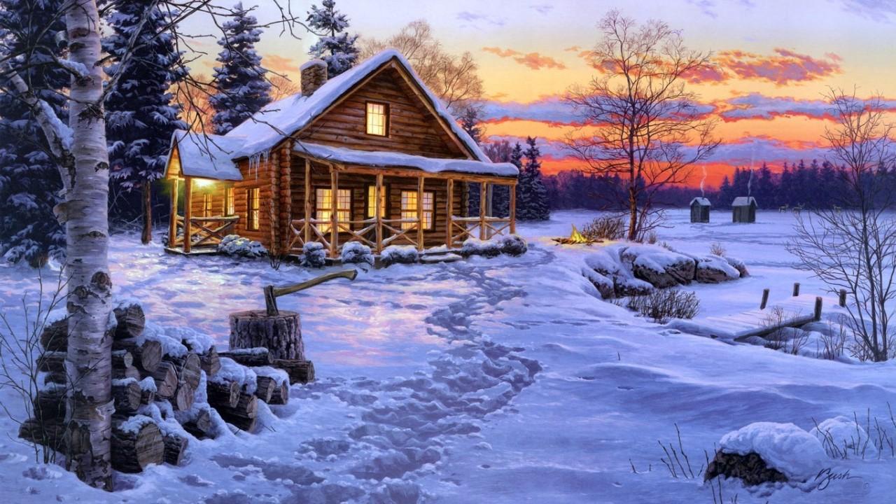 Зимняя музыкальная пауза...