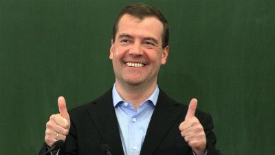 Твиттер Медведева взломали: «Ухожу в отставку. Стыдно за действия правительства»