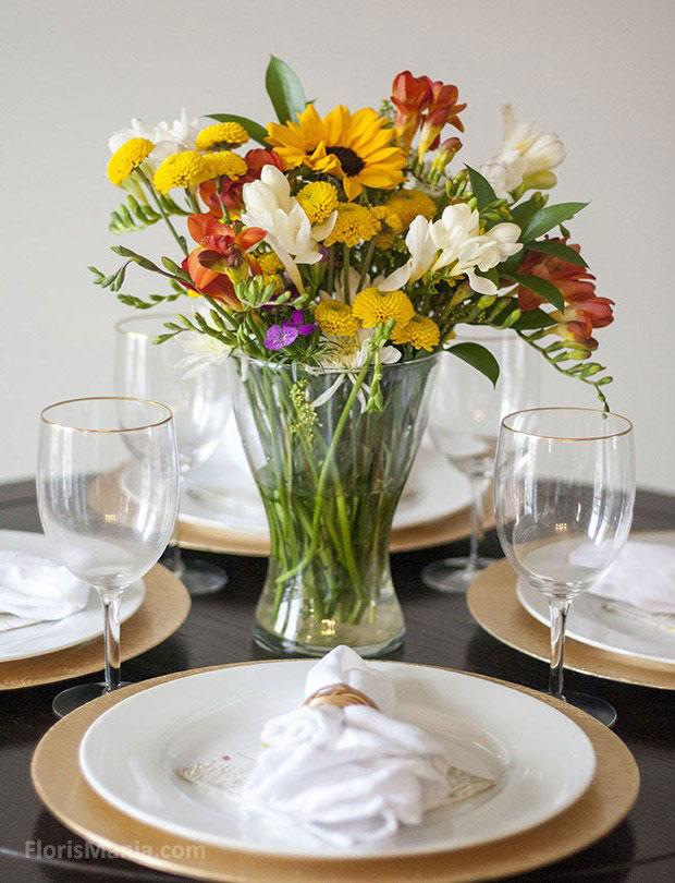 Три идеи для стильных цветочных композиций