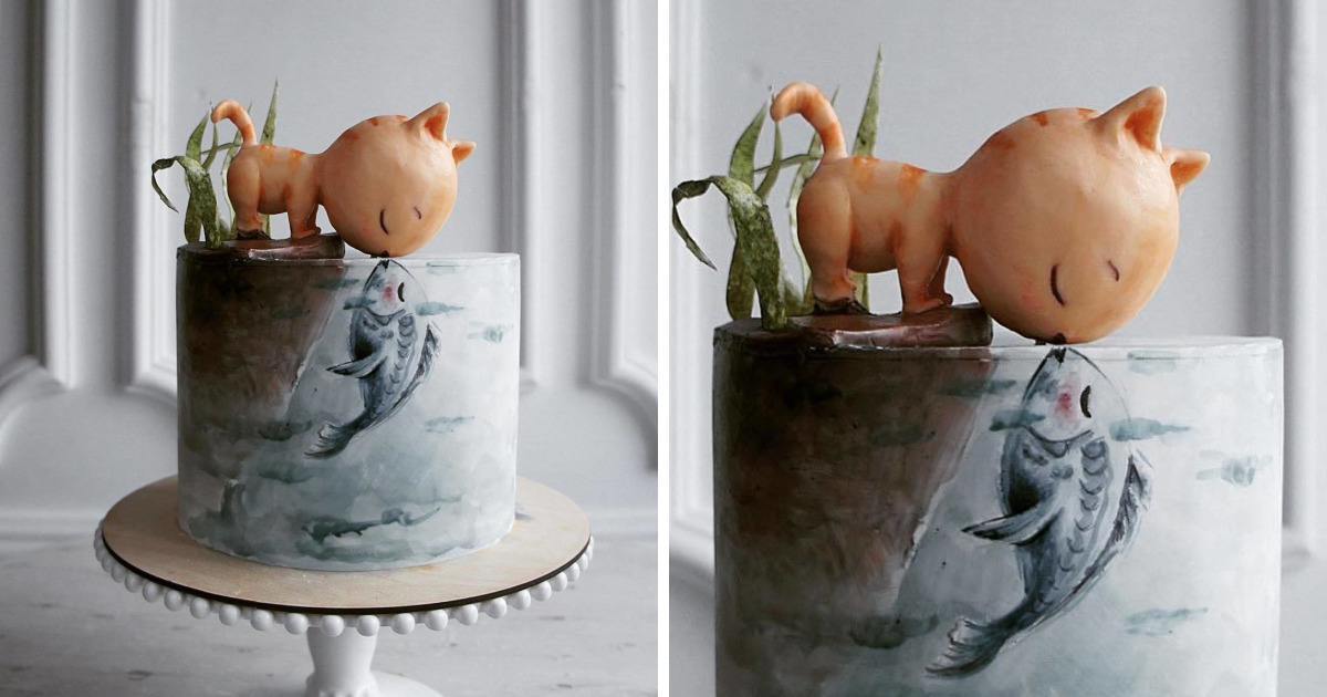 This Russian Chef Creates Cakes Like No One Else
