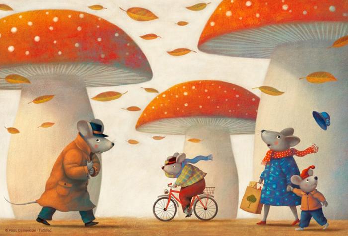 Осень на дворе.  Автор: Paolo Domeniconi.