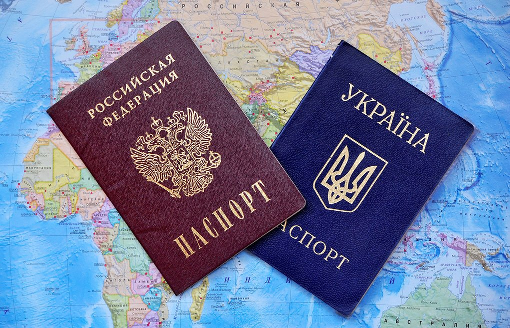 Украинцам могут запретить иметь двойное гражданство с РФ
