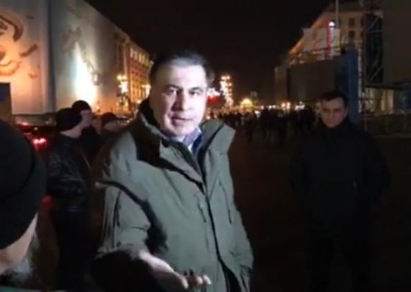 Саакашвили: Писем не писал, протесты не сворачиваю