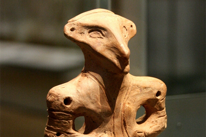 Артефакт цивилизации Винча.