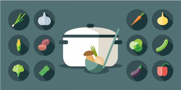 Какие овощи лучше есть приготовленными, чем сырыми?